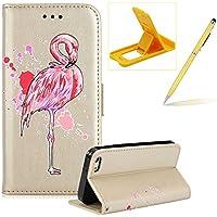 Mädchen Schönen Bling Glitzer Pink Flamingo Malerei Muster Hüllen Für iPhone 5S SE 5, Herzzer Rundum Schutz Schale... preisvergleich bei billige-tabletten.eu