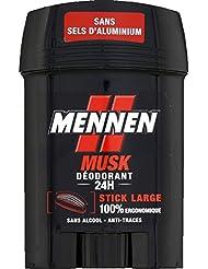 Mennen - Deodorant stick musk - Le stick de 50ml - (pour la quantité plus que 1 nous vous remboursons le port...