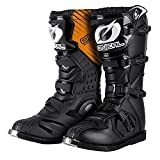 O'neal Rider MX Motocross Supermoto Motorrad Stiefel schwarz