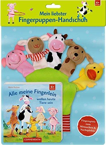 Mein liebster Fingerpuppen-Handschuh - Alle meine Fingerlein
