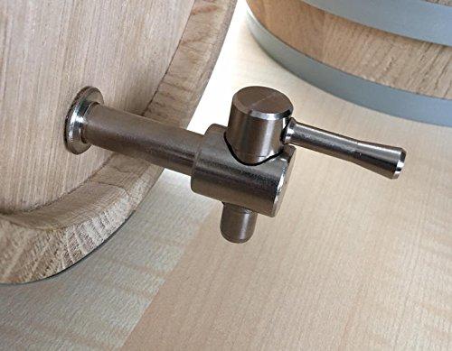 Oak Messing Barrel (MAAJ® METALL-ZAPFHAHN ERSATZTEIL FÜR WEINFÄSSER FÜR 1+2+3+5+10 LITER)