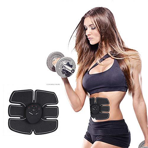 EMS Electroestimulador Muscular, Home Lazy Smart Fitness Body Cintura Delgada Pegatinas...