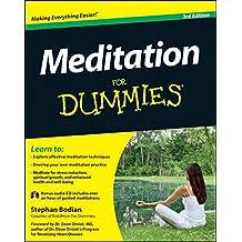 Meditation For Dummies: w/Audio CD