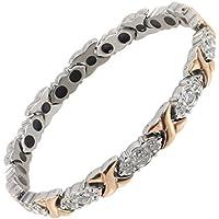 Sisto-X® Damen-Armband aus Titan mit Magnetverschluss, Roségold preisvergleich bei billige-tabletten.eu