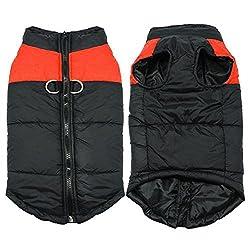 BRLMALL Pet Dog Clothes Waterproof Puppy Doggy Medium Large Dog Coat Jacket Ropa Para Perros S-5XL