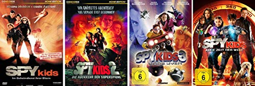 Spy Kids 1-4 im Set - Deutsche Originalware [4 DVDs] - 4 Spy Kids