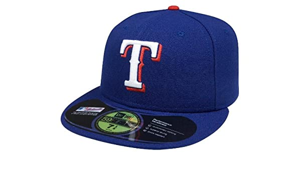 MLB Texas Rangers New Era Authentic On Field 59FIFTY Fitted Cap Hat Headwear