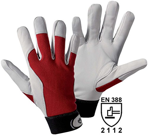 Griffy Ziegennappaleder Montagehandschuh Größe (Handschuhe): 10, XL EN 388 CAT II 1706 1 Paar