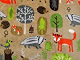 Wald Tiere Plüsch Cuddle Superweicher Fleece