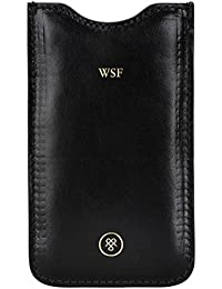 Maxwell Scott® PERSONNALISABLE! Etui En Cuir Italien iPhone6 (Gruppo)