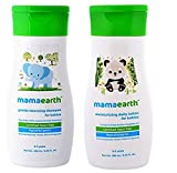 #4: Mamaearth Baby Natural Cleansing Shampoo 200ml With Baby Moisturising Daily Lotion 200ml