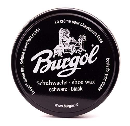 Burgol Schuhwachs (schwarz)