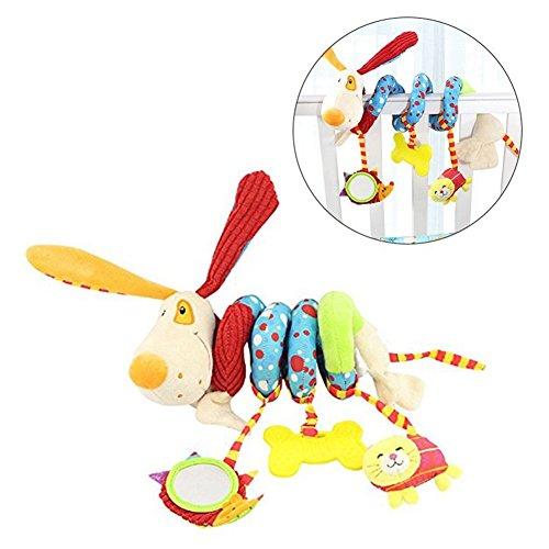 Gspirit Spirale Passeggino giocattoli, Attività Spirale felpa Sospeso Giocattolo Per Bambino educativo Giocattolo (A)
