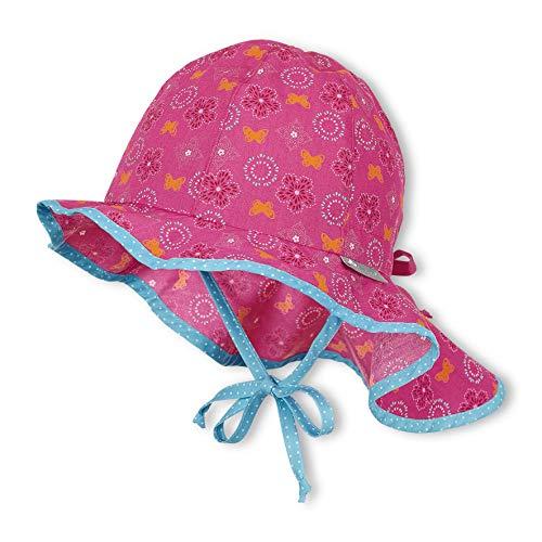 Sterntaler Baby-Mädchen Casquette Avec Protège-nuque Sonnenhut, Rosa (Magenta 745), X-Large (Herstellergröße: 47)