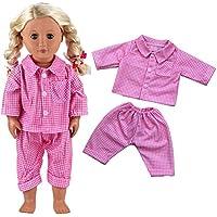 43-45 cm Handarbeit neu Kleidung & Accessoires Puppen & Zubehör Hängerchen und Hose für Puppen Gr
