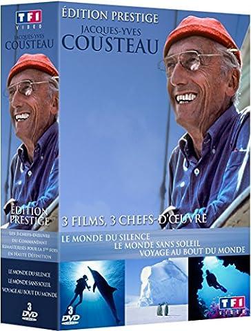 Jacques-Yves Cousteau - Coffret 3 films [Édition
