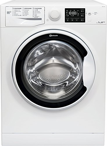 Bauknecht WM Pure 7G42 Waschmaschine Frontlader / A+++ -20% / 1400 UpM / 7 kg / Weiß / langlebiger Motor / Nachlegefunktion / Wasserschutz
