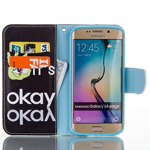 JGNTJLS Elegante Custodia a portafoglio di qualità, per iPhone 5C, con protezione per lo schermo in vetro temperato, in Pelle PU, con inserti per carte di credito, Ultra Sottile, dimensioni: 10,16 cm, Blue,Okay