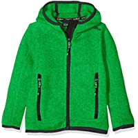 CMP Jungen Fleecejacke Knitted Fix Hood