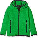 CMP Jungen Strickfleece, Green/Emerald, 176