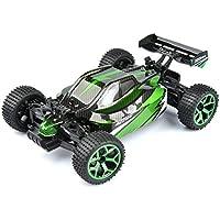 GizmoVine RC Auto 4WD Alta Velocità, Scala 1:18, telecomando a 2.4Ghz Maggiolino Elettrico da Corsa, Vehicle con Batteria Ricaricabile - Verde