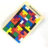 MKNZONE 3D Rompecabezas con Rompecabezas de Madera # 78 - Rompecabezas Entrelazado de Cubos de Diamantes para Adolescentes y Adultos - Desafía tu Pensamiento lógico - Ideal para Regalos