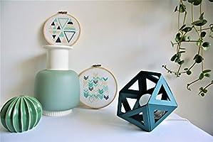 kleine Origami hellblaue Farbe