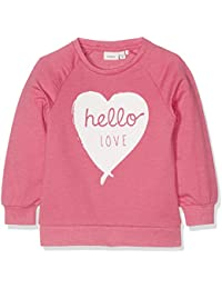 Name It Nitvalbaebba Ls Mz Ger, Sweat-Shirt Fille