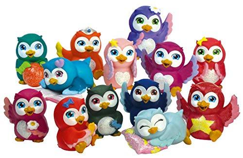 Magiki Eulen Owlettes alle 12 Verschiedene Ohne Rare Gemma