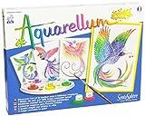 Distrifun (Sento) - Loisirs créatifs - Aquarellum Junior Oiseaux...