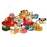 Laternen Bunte Tiere aus Papier Lichterketten Weihnachtsdeko Kinderzimmer Von Chainupon (Tiere)