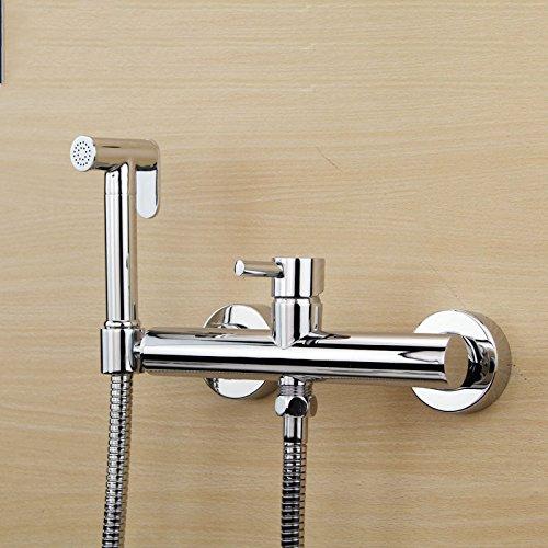 GFEI irrigator, booster, douche, chaud et froid pistolet, pistolet pulvérisateur, douche robinet / toilettes robinet ensemble,c
