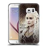 Offizielle HBO Game Of Thrones Daenerys Targaryen Zeichen Zitate Soft Gel Hülle für Samsung Galaxy S7