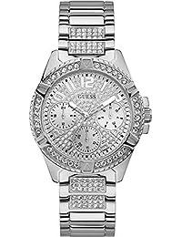 8e07649dfcc8 Guess Lady Frontier Reloj para Mujer Analógico de Cuarzo con Brazalete de Acero  Inoxidable W1156L1