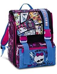seven 292001401 mochila del asiento trasero grande monster high con los gadgets