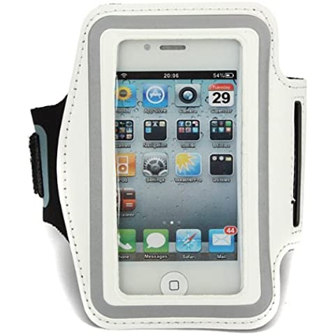 Ejecución de la caja del brazalete impermeable Deporte Gimnasio para el iPhone 4 4S .