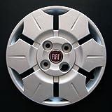 Set von 4 neuen Radkappen für Fiat Panda 2003-2012 mit Originalfelgen in 13 Zoll