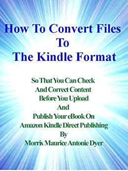how to convert pdf to kindle format