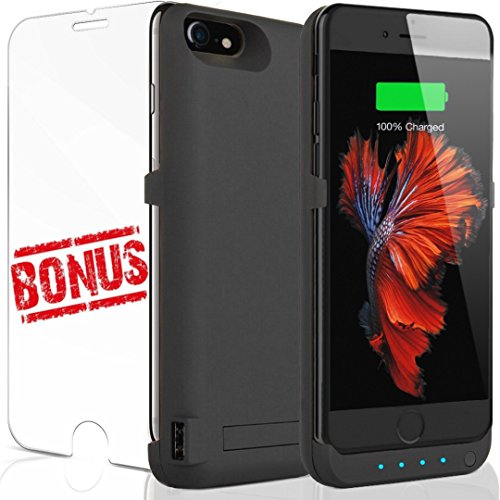 iPhone 7 battery case: Caricabatterie per Apple iPhone 7 6 6S Best Christmas