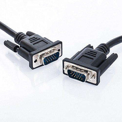 10m VGA zu VGA Kabel| für PC/Notebook zu Monitor TV Beamer | von JAMEGA