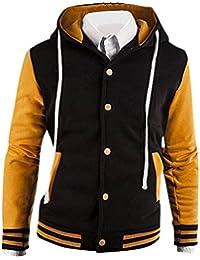 Jeansian Los Hombres De Moda Chaqueta De La Capa Ocasional Men Fashion Coat Casual Jackets 9006