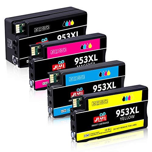 JIMIGO 953 XL 953XL Druckerpatronen Ersatz für HP 953 Patronen Kompatibel mit HP OfficeJet Pro 8710 7740 8720 8715 8218 8725 8718 8730 8740 8728 7720 7730 8210 Drucker