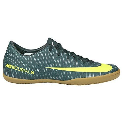 Nike Mercurialx Victory Vi Cr7 Ic, Herren Fußballschuhe, Mehrfarbig (Seaweed/hasta/white/volt), 42 EU