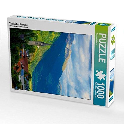 Preisvergleich Produktbild Thuins bei Sterzing 1000 Teile Puzzle hoch (CALVENDO Orte)