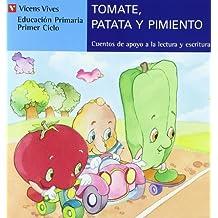 Tomate Patata Y Pimiento-azul: 3 (Cuentos de Apoyo. serie Azul) - 9788431651442