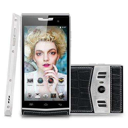 DOOGEE TITANS2 T3 4G-LTE Smartphone ohne Vertrag Dual SIM 4.7'' Zoll IPS HD-Screen Dual-Display Android 6.0 1.3GHz Octa Core 3GB RAM+ROM 32GB Dual ID Wake Gesture OTA GPS WIFI Schwarz