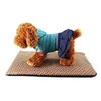 Generic Small Grid, 70x55x2cm : Summer Dog Pet Cooling Mats Square Cat Dog Bedding Summer Cooling Puppy Pad S M L size