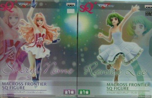 Preisvergleich Produktbild Macross F SQ Figure - Sheryl Nome and Ranka Lee - Set of 2 Special Quality (japan import)