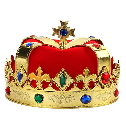 Zoylink König Crown Prince Crown kreative dekorative Strass Party Krone