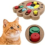 Pet Intelligence Toy PYRUS Eco-friendly Interactive Fun Hide and Seek Food Treated Wooden Pet Paw Puzzle Toy for small or midium dogs and cats